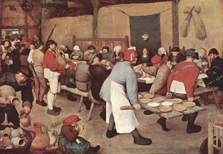 Bruegel-Bauernhochzeit
