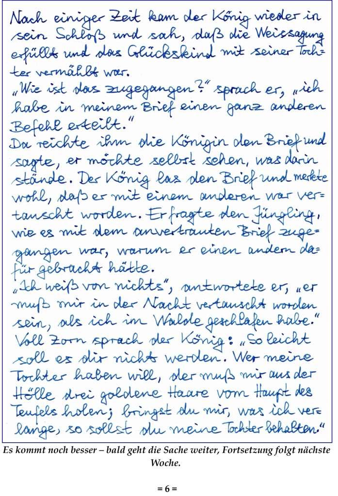 KW 44; Witzels wöchentlicher Worttransport, Seite 6.