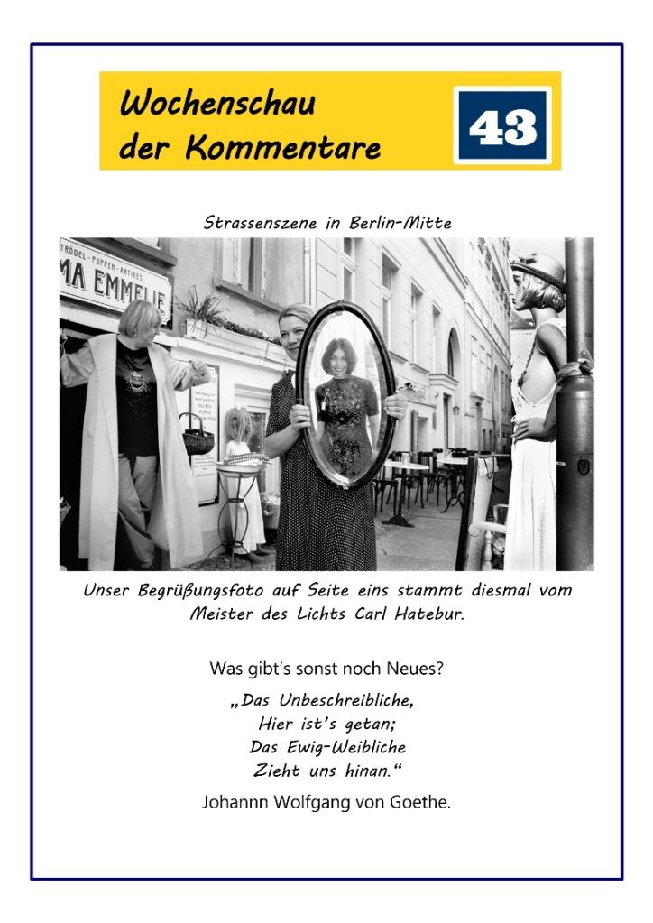 WdK 43, Seite 1 bzw. Titelblatt.